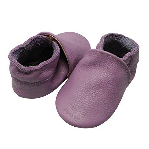 7017faaba55ad YIHAKIDS Chaussures Bébé Chaussons Bébé Chaussons Cuir Souple ...