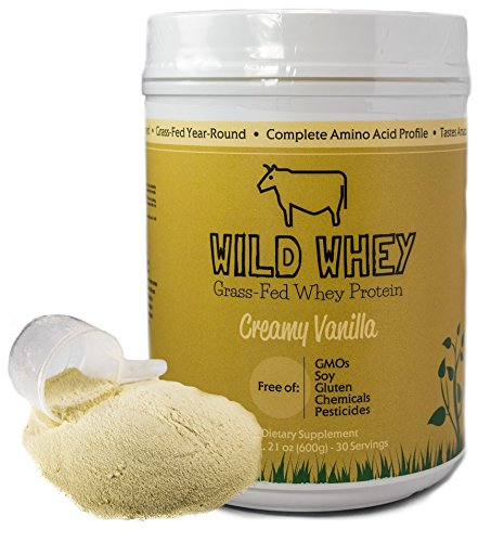 Grass-Fed Whey Protein, Cold Processed Non-Denatured, Biologically Active
