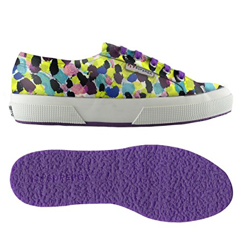 purple Superga Collo Yellow Sneaker Unisex Brush 2750 Basso Adulto Fabriclibertyw a rwPqr