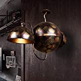 FuweiEncore Industrial Loft Style Restaurant Bar, Caisse Wall Lamp Retro Nostalgia Walk Corridor Staircase Balcony Lighting Wall Lamp Personality E27 (W42 cm*H 53 cm). (Color : -, Size : -)