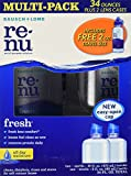 Bausch + Lomb Renu Multi-purpose solution - 2 x 16 fl. oz. bottles + 1 2 fl. oz bottle