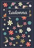 Ladonna: Taccuino | Diario | Sketchbook | 120 pagine | A4 | Bianco | Idee regalo (Italian Edition)