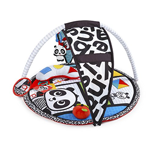 Baby Einstein Bold New World High Contrast Playmat, Newborns and Up