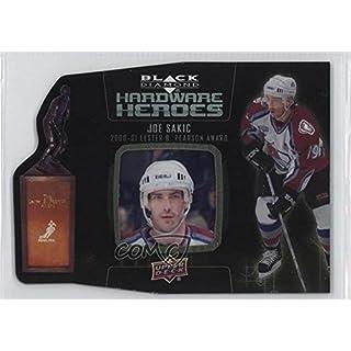 Joe Sakic #68/100 (Hockey Card) 2014-15 Upper Deck Black Diamond - Hardware Heroes #HH-JS