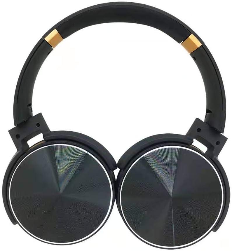 Bluetooth Headphones Over Ear Hi-Fi Stereo Wireless Headset Foldable Built-in Mic