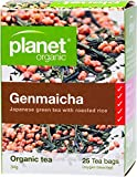 Planet Organic Genmaicha Japanese Green Tea 25 Teabags
