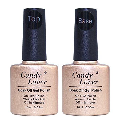 Perfect Summer 6pcs 10ml Nail Art Soak Off UV Gel Glass Poli