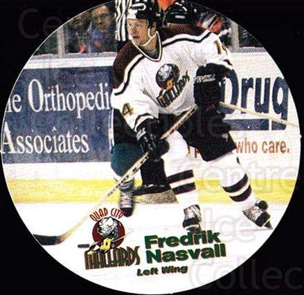 (CI) Fredrick Nasvall Hockey Card 1996-97 Quad City, used for sale  Delivered anywhere in USA