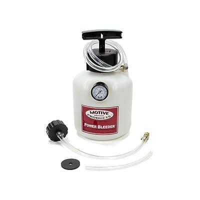 Motive Products, European Power Brake Bleeder, 0100, Hand Pump Pressure Tank with Adapter: Automotive [5Bkhe2002855]