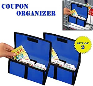 amazon home decor coupons organizer set of 2 blue kitchen 10341