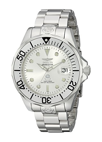 Invicta Men's 13937 Pro Diver Automatic Silver Dial Stainless Steel Watch ()