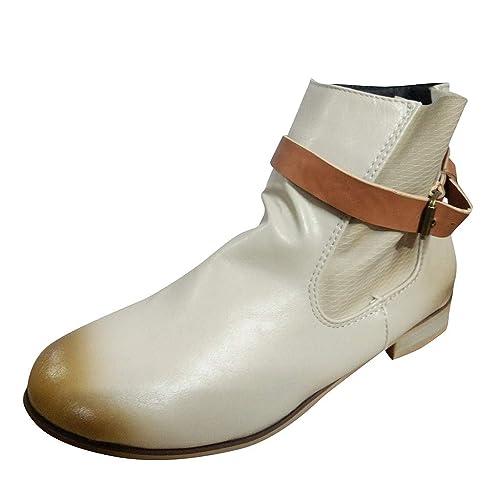 TWIFER Rodilla Botas Altas Mujer Mujer Ankle Botas Botas ...