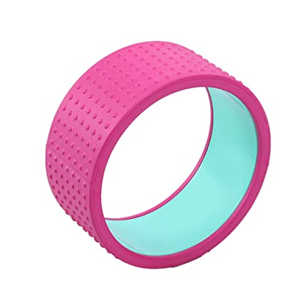 Amazon.com : LBAFS Massage Yoga Wheel - Pilates Ring/Dharma ...
