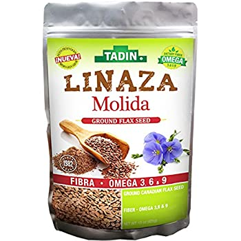 Tadin Linaza-(Flax) Molida 15-Oz (Pack of 1)