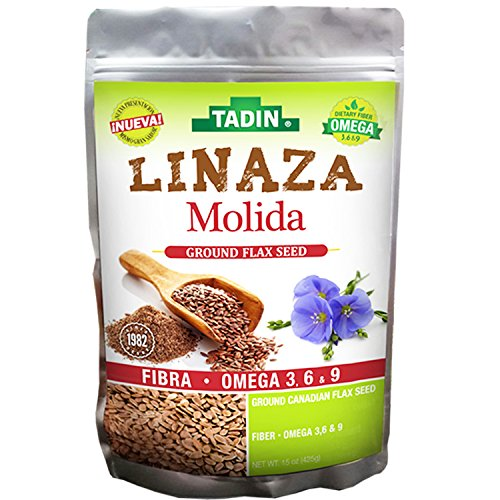 Amazon.com: Tadin Linaza-(Flax) Molida 15-Oz (Pack of 1): Health & Personal Care