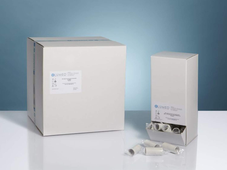 Boquilla desechable adultos para espirómetros en dispensador de 100 piezas