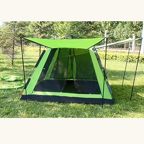 KD Zelt Outdoor Selbstfahrende Camping Camping 4-6 Personen Vollautomatisches Hydraulisches Zelt Ultra Light Portable Leicht Zu Unterbringen,Grün
