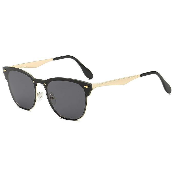 Amazon.com: LKEYE Gafas de sol clásicas unisex, lentes ...