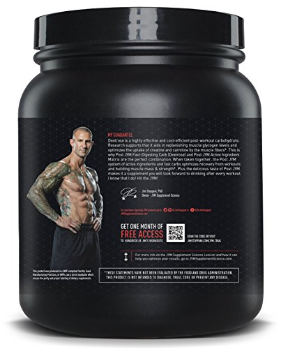 JYM Supplement Science, POST JYM Fast-Digesting Carb, Post-Workout Powder, Rainbow Sherbet, 30 Servings