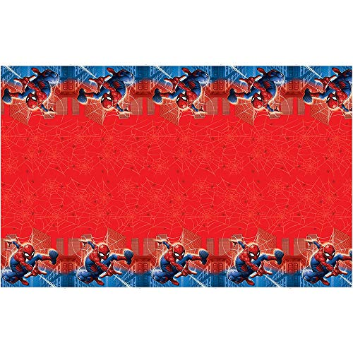 Spider Man Table - Spiderman Plastic Party Table Cover - 2 Pack