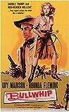 Bullwhip Poster Movie 11x17 Guy Madison Rhonda Fleming James Griffith Peter Adams
