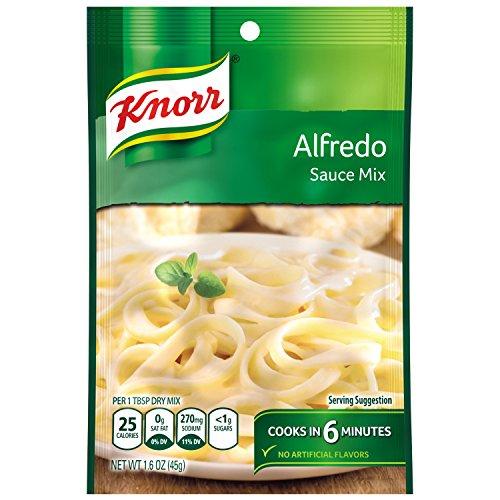 Knorr Pasta Sauce Mix Pasta Sauce Mix, Alfredo 1.6 oz (Pack of 12)