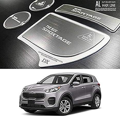 2017 Kia Sportage Accessories >> Amazon Com Lightkorea Aluminum Hairline Two Block Cup