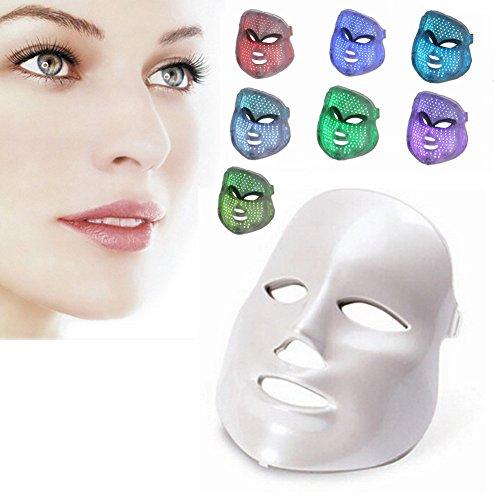 Face Light Mask Carer 7 Color Red Light Mask Facial Skin Rejuvenation Beauty Home Use Skin Care Device from CARER Healthcare Incontinence Pregnancy