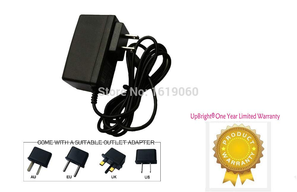 Fincos Global AC//DC Adapter for Sharp Viewcam VL-A110 VL-A111 VL-AH131 VL-AH161 View Cam 8 VLAH151U VLAH161U LCD Camcorder