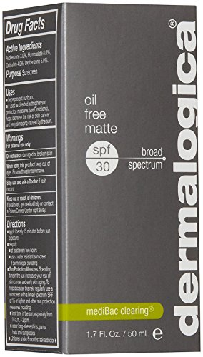 Dermalogica Oil Free Matte Sunscreen Lotion SPF 30, 1.7 Fluid Ounce