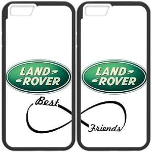 JiHuaiGu (TM) iPhone 6 6S 4.7 Inch funda negro BFF mejores amigos-LAND ROVER LOGO personalizado temático iPhone 6 6S 4.7 Inch funda OJ1706