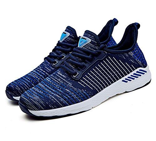 Light Chaussures De Taille xie Mode Royal Couple blue 45 Air Summer Chaussures Course en Casual Chaussures Grande 36 Marée De Respirant Plein Sport Saa5w