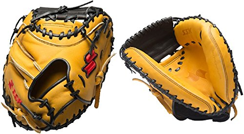 SSK S16200CT2P 33'' Select Professional Series Baseball Catchers Mitt New! by SSK