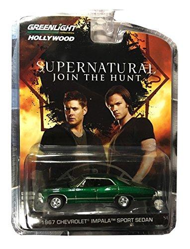 Supernatural 1967 Chevrolet Impala Sedan 4 DOOR 1:64 GREEN ()