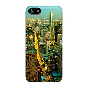Back Cases Covers For Iphone 5/5s - Usa Chicago Illinois