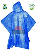 Shalimar Unisex Reusable Rain Poncho (Multicolour, Free Size) - Pack of 6