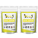 Anti Alcohol Drink Support Supplement – Craving Support, Liver Health, Reduce Intake Formula – Kudzu, Milk Thistle, Holy Basil, NAC for All Natural Detoxify, Gradual Reduction, and Stopping – 30 Day