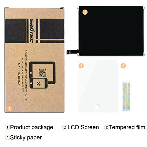 Srjtek LCD Display Screen Parts Replacement,for IPad Mini 2 3(7.9''),Fit for A1489 A1490 A1491 by srjtek (Image #3)