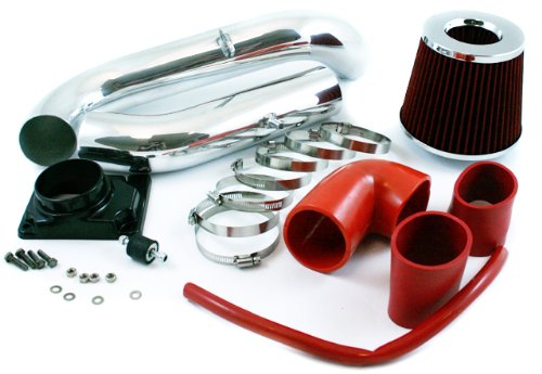 00-05 Mitsubishi Eclipse / 99-03 Galant 2.4L & 3.0L Cold Air Intake Red (Include Air Filter) #MT-2R