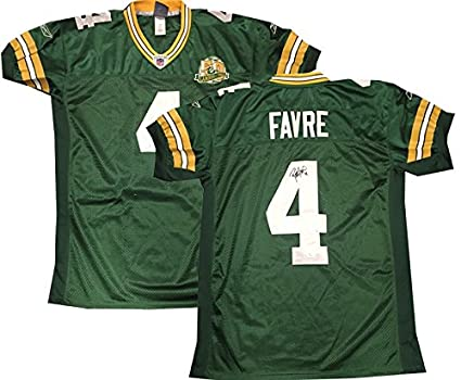 release date: f6bf4 d02ca Brett Favre JSA Signed Oficial Pro Authentic Packers Jersey ...