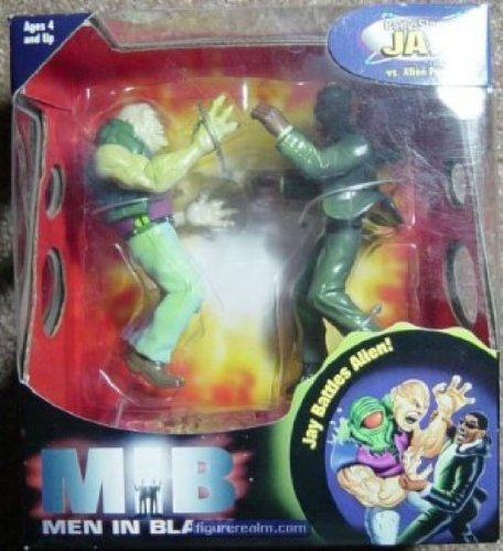 Men in Black Body Slam Jay vs. Alien Perp action figures -