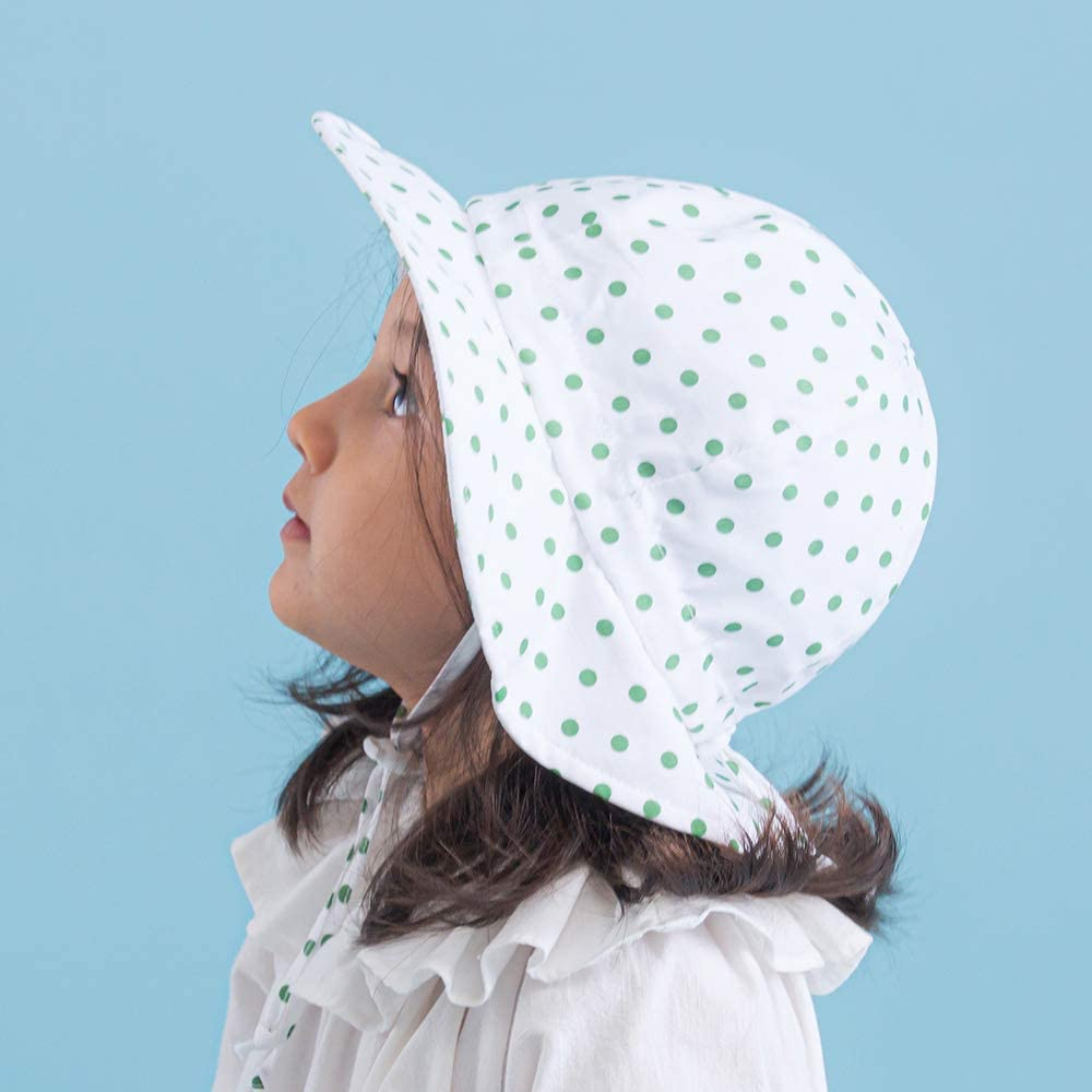 Ami /& Li tots Unisex Ni/ño Ajustable Brim Wide Sun Protection UPF 50 Baby Girl Boy Sunhat Infant Kids Toddler Sun Hat