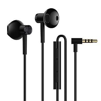 Xiaomi Original BRE01JY - Auriculares in-Ear (Controlador Dual), Color Negro