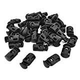 Best uxcell Lock Cylinders - uxcellPlastic Toggle Stoppers Single Hole Cord Locks End Review