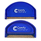 Comfy Clothiers Sweater Shaver & Cashmere Comb Combo Pack - Fabric Shaver Removes Pills, Fuzz and Lint from Garments
