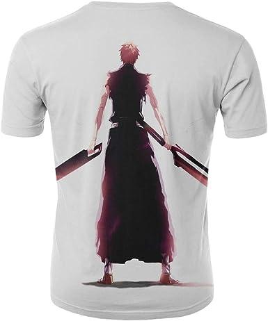 Unisex Camisetas de Manga Corta Casual Hipster Camisas Deportivas Sport Blanqueador-XXXL: Amazon.es: Ropa y accesorios
