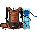 MIRACOL Hydration Backpack with 2L Water Bladder & Long Tube Brush, Thermal Insulation Hydration Pack Keeps Liquid Cool up to 4 Hours, Prefect Outdoor Gear for Hiking, Running, Camping, Cycling