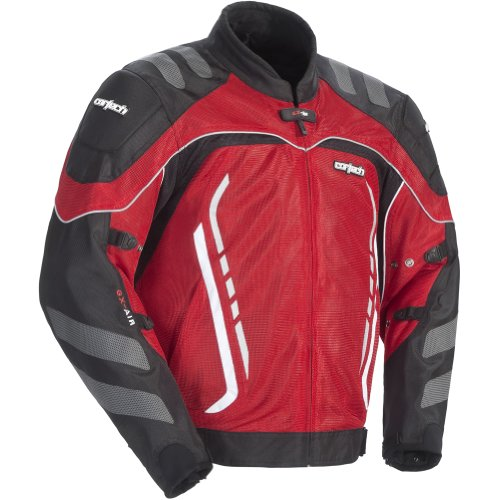 Cortech GX Sport Air 3 Mens Red Mesh Jacket - -