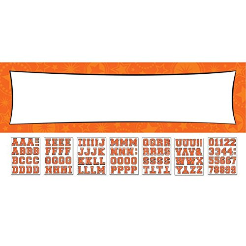 Amscan 129567.05 Giant Sign Banner, 65 x 20 inches, Orange