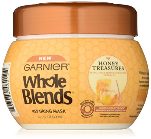 Garnier Whole Blends Repairing Mask, Honey Treasures extracts, 10.1 Fluid Ounce by Garnier